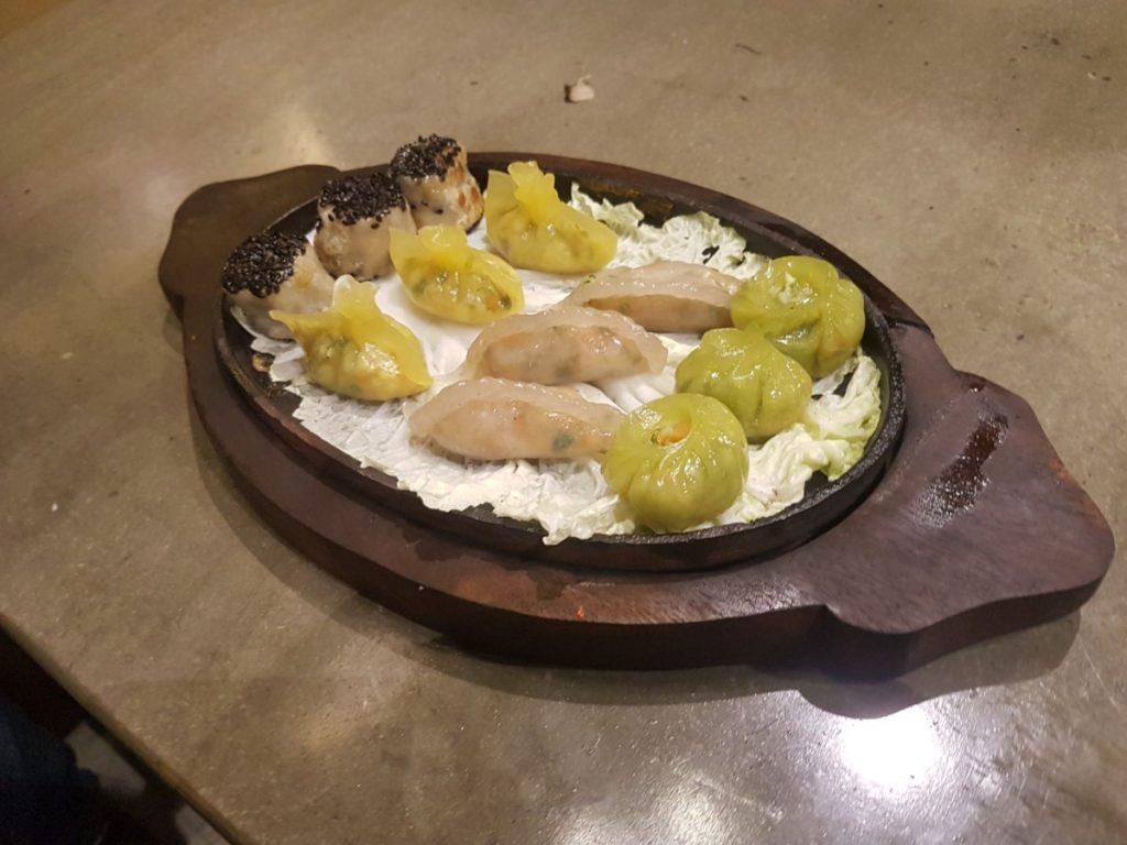 Veg Dimsum Platter