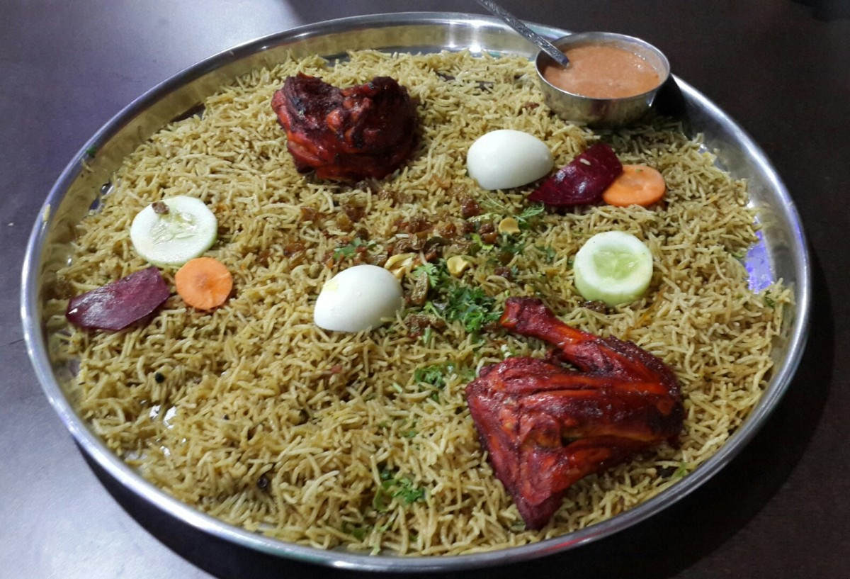 Best places in hyderabad for mandi khabsa palate journals mataam al yamani chicken khabsa forumfinder Images